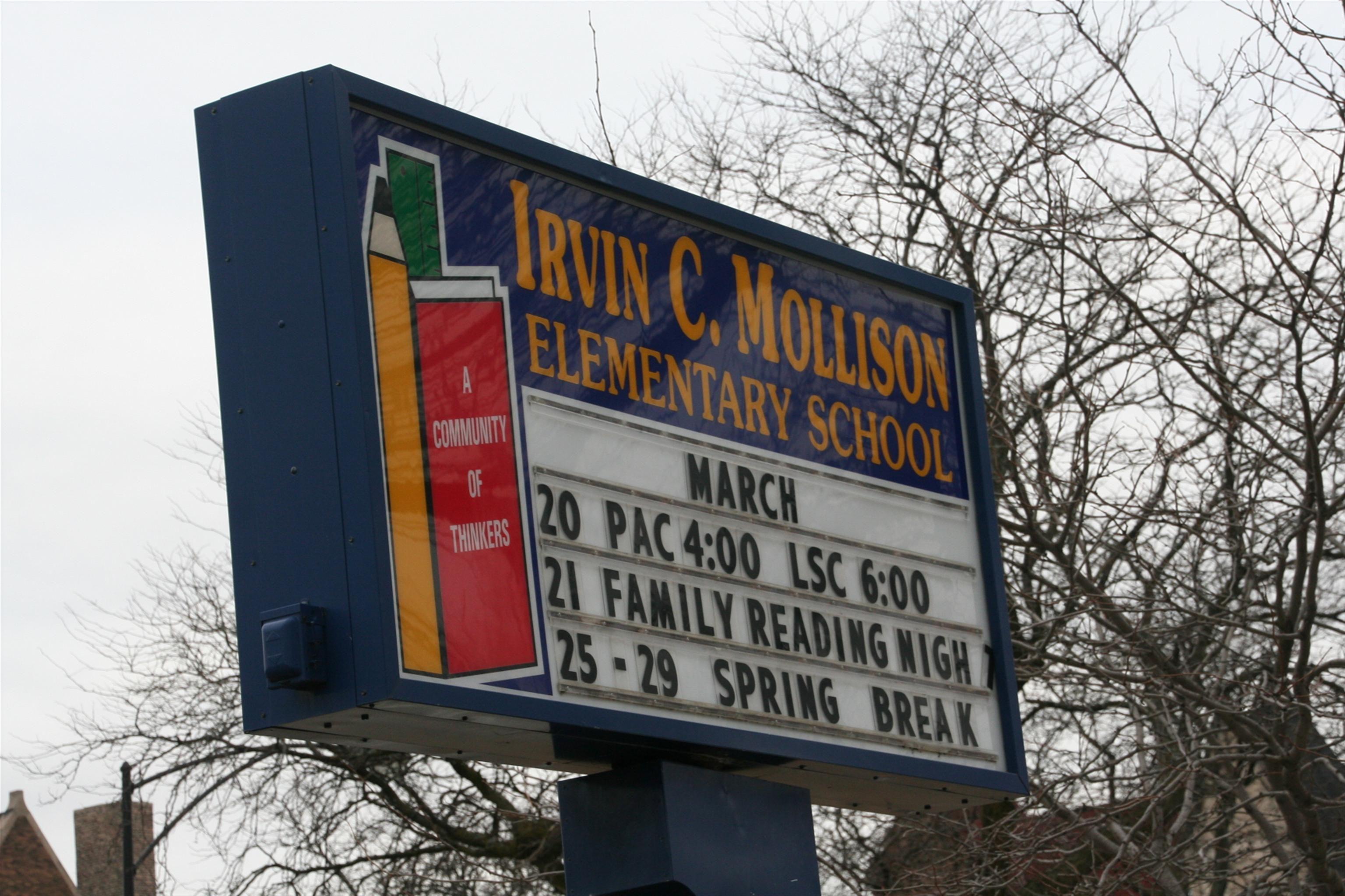 featured image Irvin C Mollison Elementary School