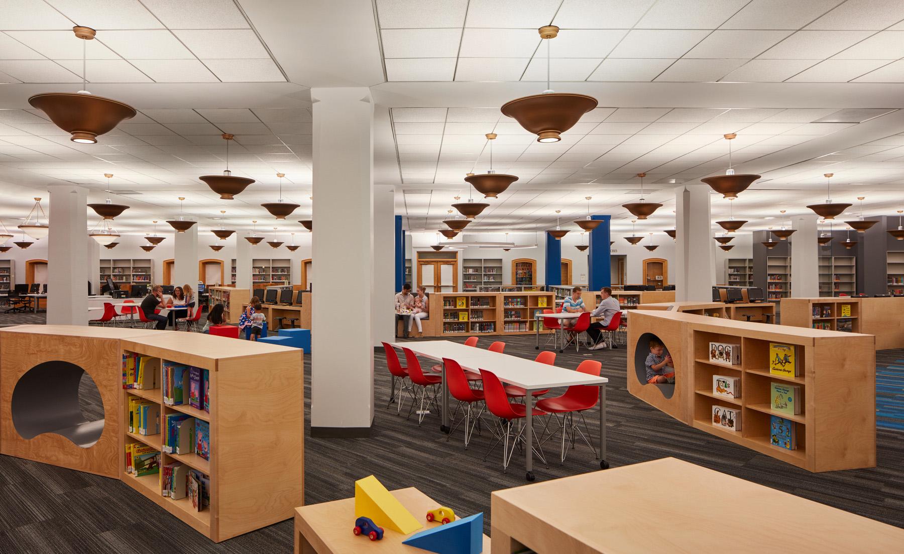 Thomas Hughes Children S Library Renovation Pbc Chicago